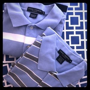 Daniel Cremieux Shirts - DANIEL CREMIEUX MEDIUM Bundle of 2 Shirt Polo Tops